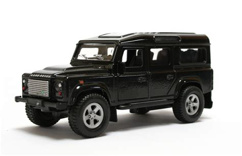land rover defender black black land rover defender die cast model kids globe