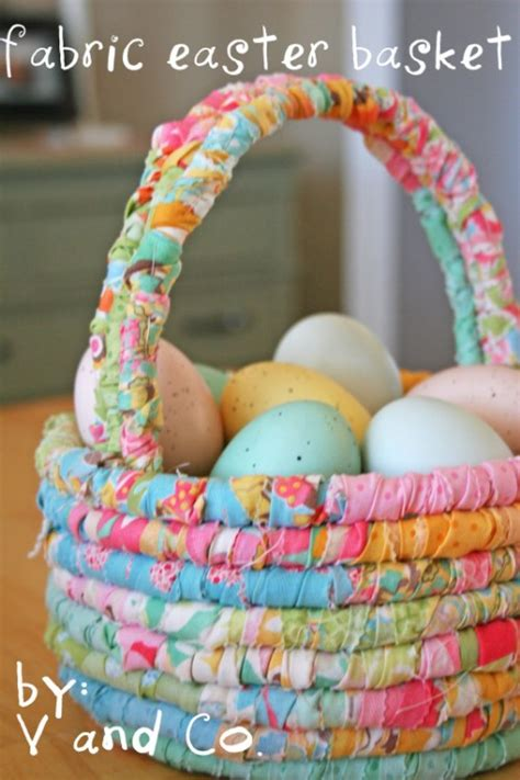 homemade easter basket ideas 25 cute and creative homemade easter basket ideas diy