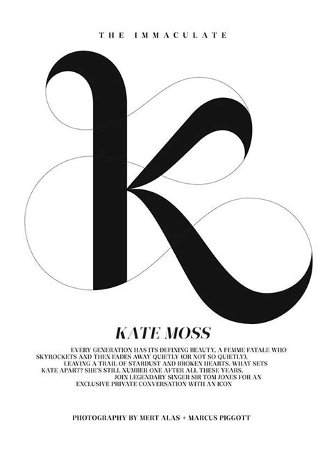 Design K Font   lovely typography here with the letter k love the lines