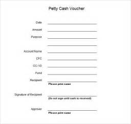 sample petty cash voucher template 9 free documents in