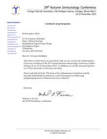 Certification Letter Of Participation Solomon Participation Confirmation Letter 1