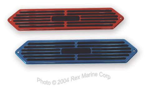 boat step pads dana billet deck step pads automotive performance