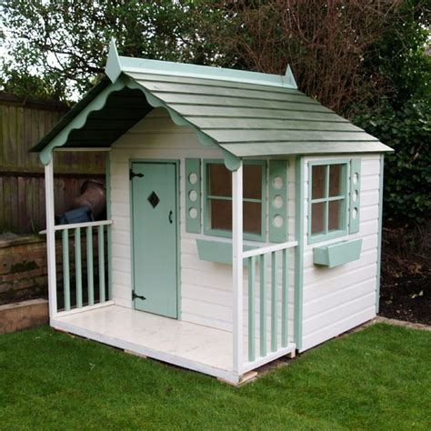 Handmade Wooden Playhouse - raised playhouse plans free woodworking projects plans