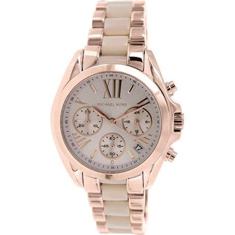 montre michael kors bradshaw mk6066 montre or chronographe femme sur bijourama n 176 1 de la