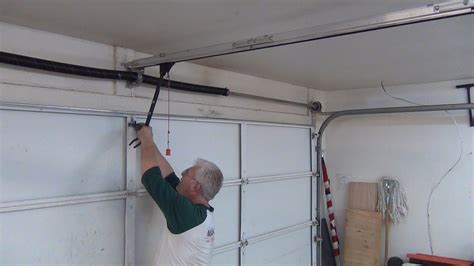 garage door motor stuck tips to repair stuck garage door rollers