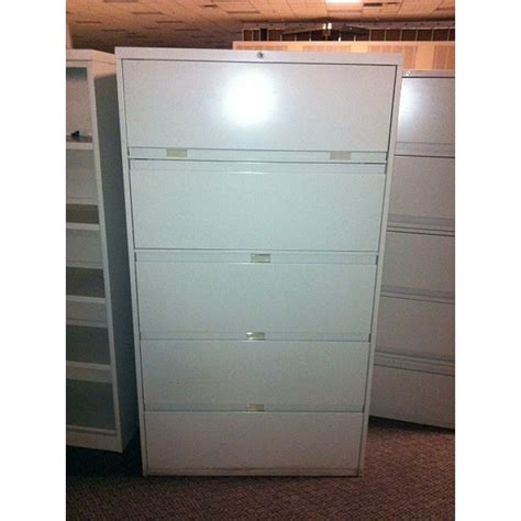 Five Drawer Lateral File Cabinet by Used Steelcase 5 Drawer Lateral File Cabinet 42 Inch Width