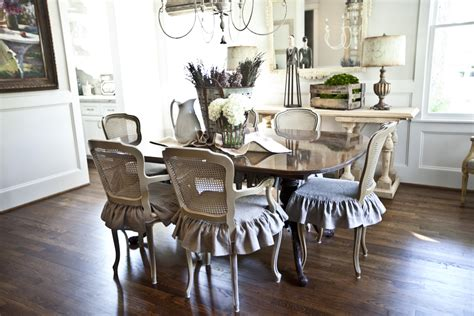 French Dining Room | making caned chairs elegant and sturdy chairs old