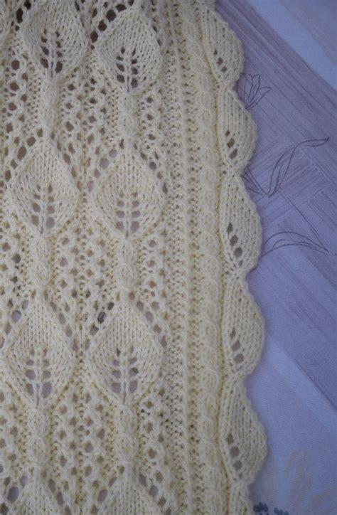 free pram blanket knitting patterns knitted baby blanket cot blanket pram blanket lace