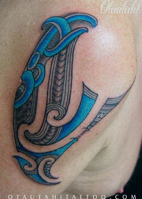 tattoo designs new zealand shoulder colour color maori ta moko tamoko kirituhi new