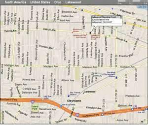 Map Of Lakewood Ohio by Lakewood Municipal Court Directions