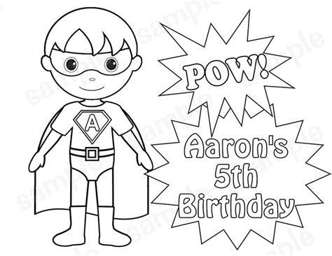 superman birthday coloring pages super hero coloring sheet superhero boy birthday party
