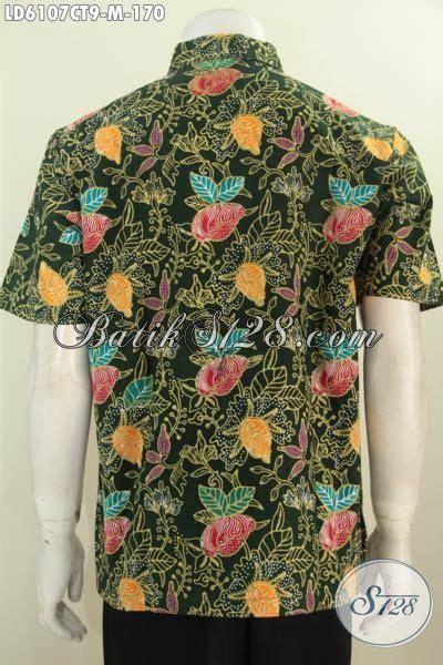 Hem Cap Tulis hem batik fashion motif bunga proses cap tulis pakaian