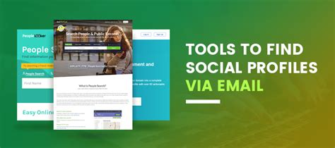 Social Profile Search By Email Formget