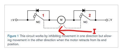 motor limit switch circuit google search circuit