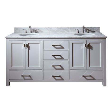 72 Inch Vanity Cabinet Only by Modero 72 Inch Vanity Only In White Finish Avanity