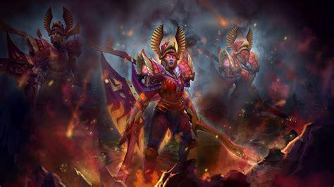 wallpaper dota 2 arcana woman warrior dota 2 legion commander arcana art