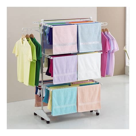 Hanging Laundry Rack by Hanging Clothes Drying Hanger Laundry Rack Foldable