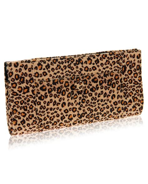 Leopard Print Clutch fair trade leopard print clutch bag purse