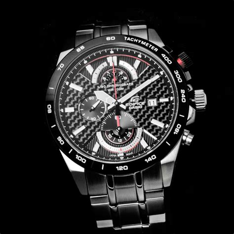 Casio Edifice 520 Bk gents casio edifice active racing chronograph efr