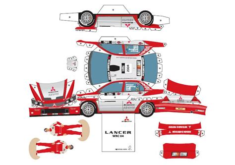 Paper Cars To Make - 4 best images of printable paper toys car impala
