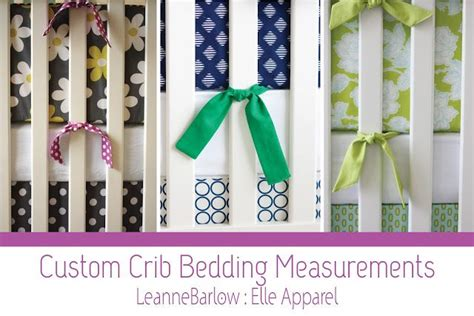 crib bedding 101 patterns for dust ruffle and bumper