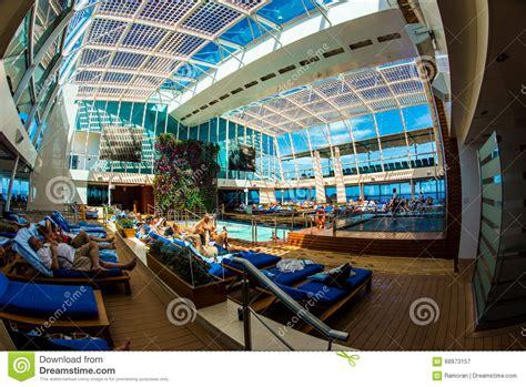 interno nave da crociera interno della nave da crociera fotografia editoriale