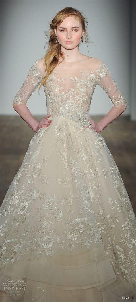 Dominiq Dress White Zv lazaro fall 2017 wedding dresses new york bridal fashion week runway show wedding inspirasi