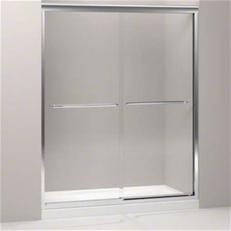 Kohler Frameless Sliding Shower Doors Kohler K 702207 L Shp Fluence 59 5 8 Quot X 70 5 16 Quot Frameless Sliding Shower Door With 3 8 Quot Thick