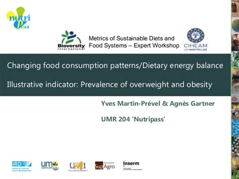 changing pattern of energy usage changing food consumption patterns dietary energy balance