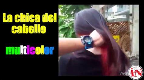 la chica del pelo 1537468642 la chica del cabello multicolor internet muy interesante youtube