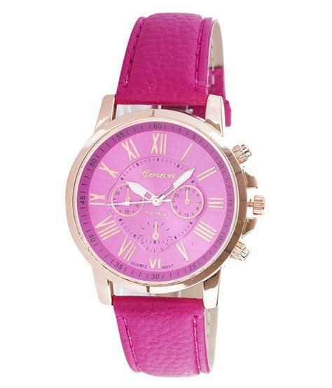 Geneva Pink geneva pink analog chronograph available at snapdeal for rs 299