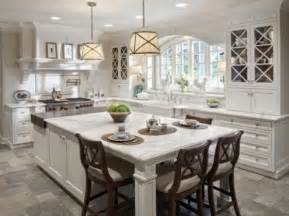 Large Kitchen Designs Functional Large Kitchen Island Designs With Seating
