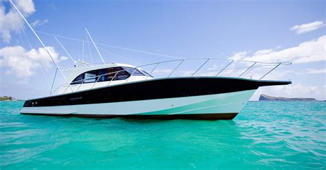 speed boat equipment aquila big game fishing mauritius boat and equipment
