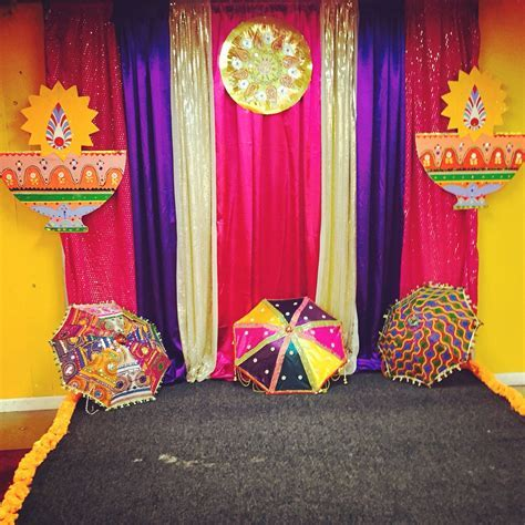 Bollywood Diwali Party Photo booth backdrop   Wedding