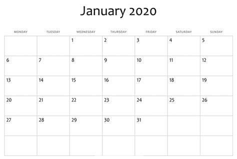 january  calendar editable printable calendar template printable calendar  calendar