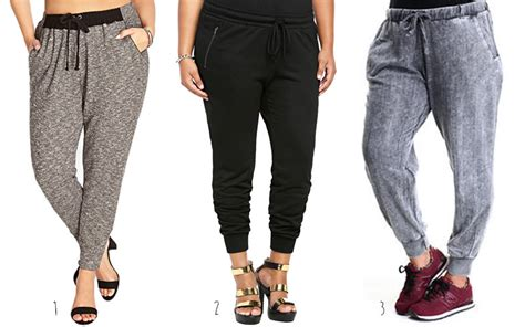 Jogger By Apple 2014 trends plus size joggers