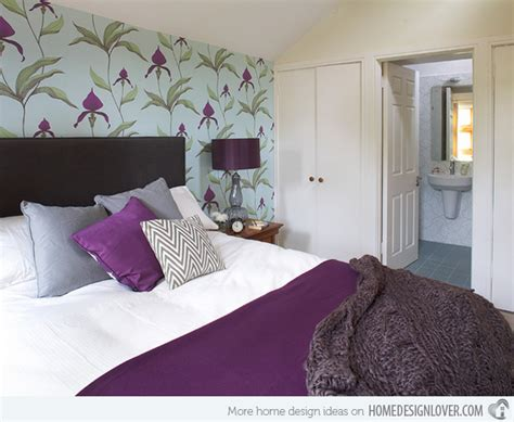 black white purple bedroom 15 stunning black white and purple bedrooms decoration