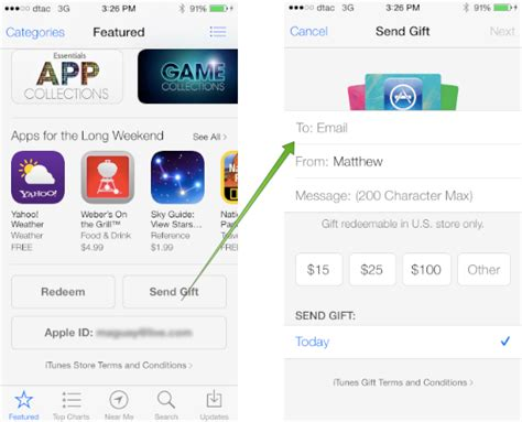 Purchase App Store Gift Card - how to buy an app store or itunes gift card from itunes techinch