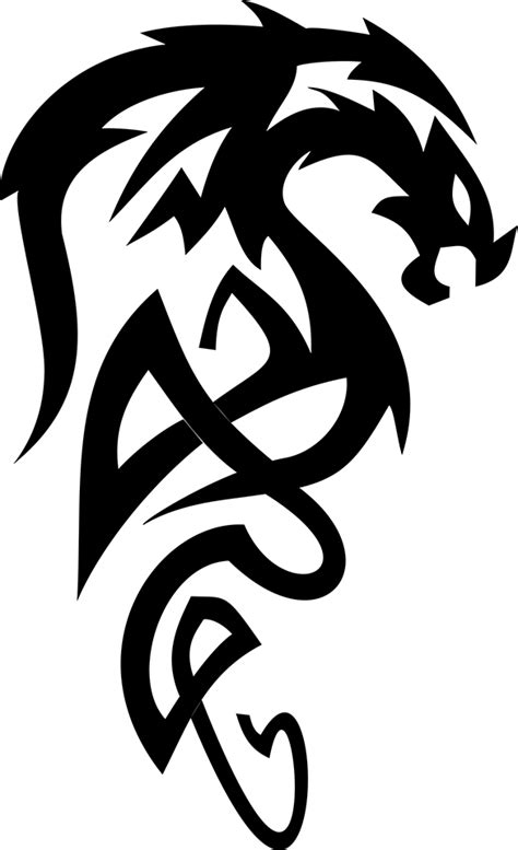 tattoo png format great pictures of cool dragons