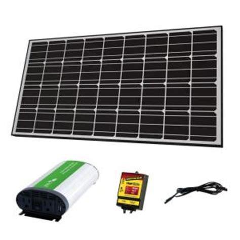 competition solar 145 watt grid solar panel kit 57005
