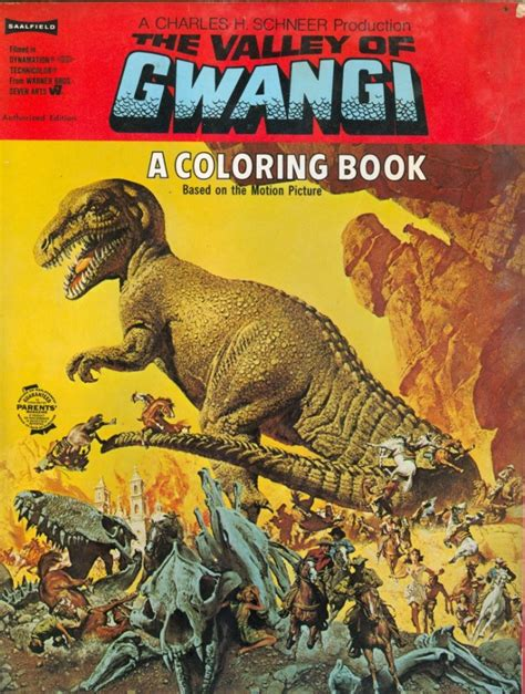 gwangi coloring book for sale the valley of gwangi collectibles