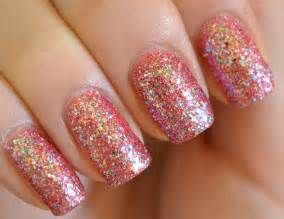 20 beautiful and trndy sparkling nail ideas