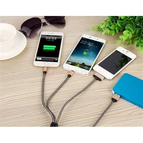 usb charger cable gold  iphone ipad ipod samsung