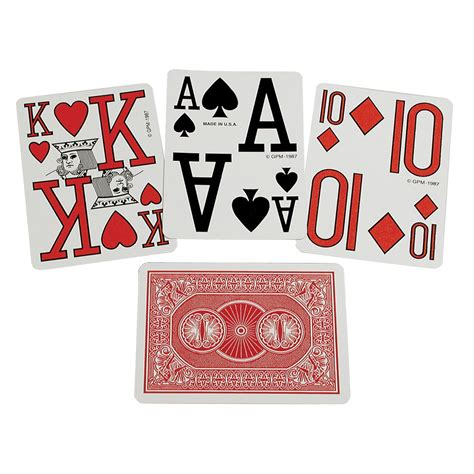 printable large deck of cards maxiaids marinoff large print playing cards