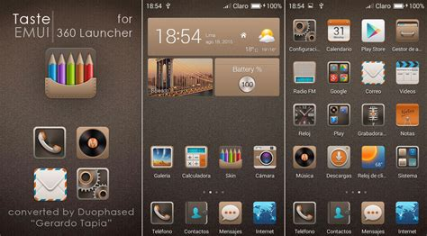 360 launcher themes pack taste emui theme for 360 launcher by duophased on deviantart