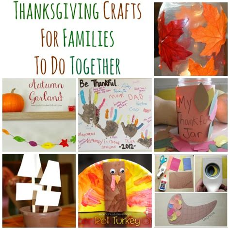 crafts for families 10 thanksgiving crafts for families to do together