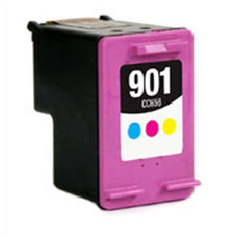 hp 901 color hp cc656an hp 901 color remanufactured color inkjet