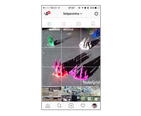 como fazer layout no instagram como fazer um mosaico de fotos no seu perfil do instagram