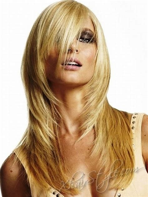 cute no layer cuts long layers long hair layered styles cute prom hairstyles