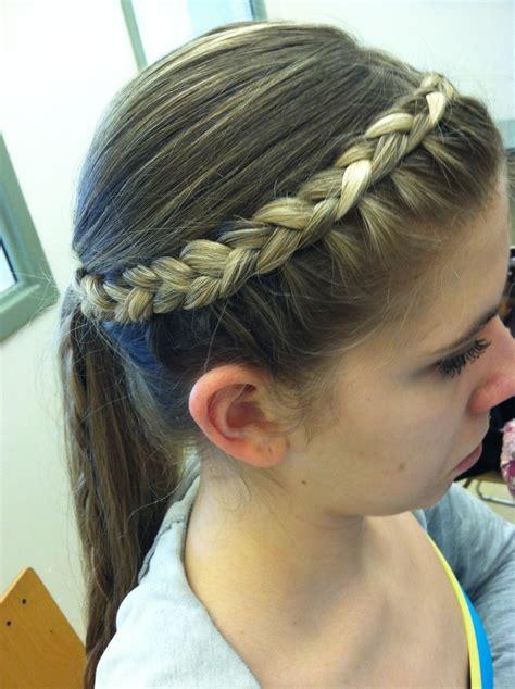 reverted braid styles inverted braid hairstyle hair styles pinterest